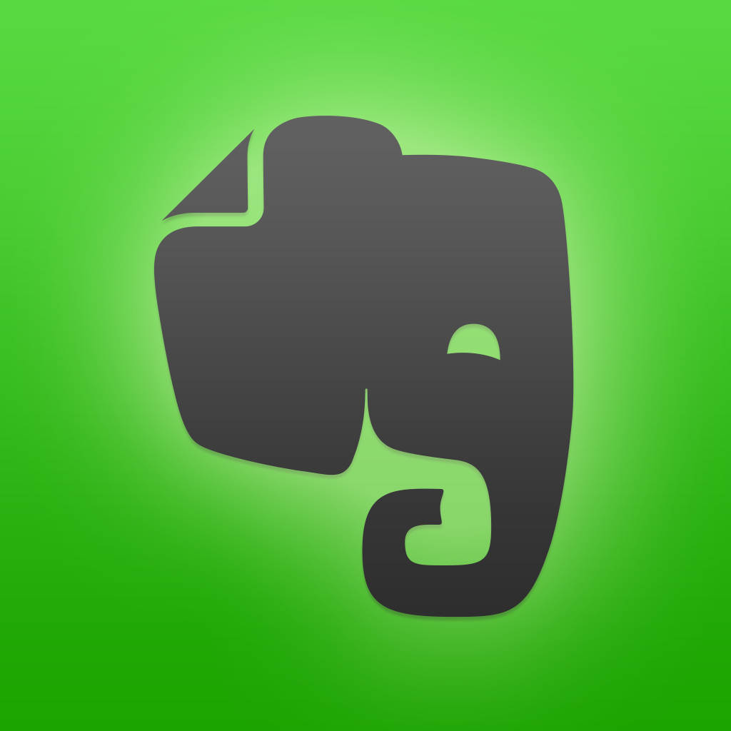 Evernote iPad app